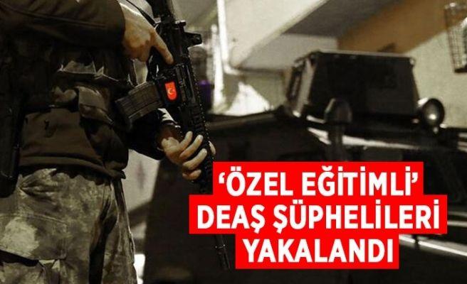 'Özel eğitimli' DEAŞ'lı teröristlere operasyon: 4 gözaltı