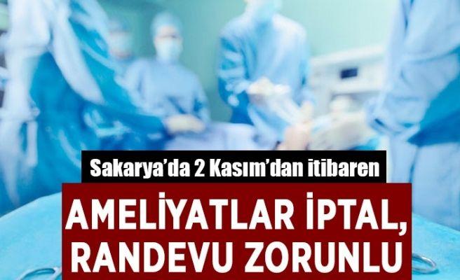 Sakarya'da hastaneler için çok önemli karar!