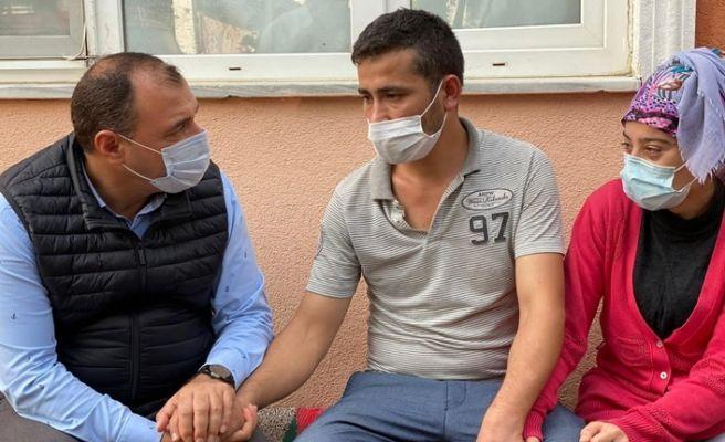 Vali Kaldırım'dan acılı aileye taziye