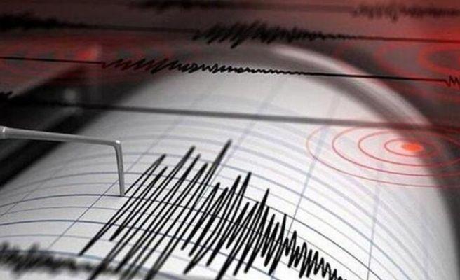 4.3 büyüklüğünde deprem!