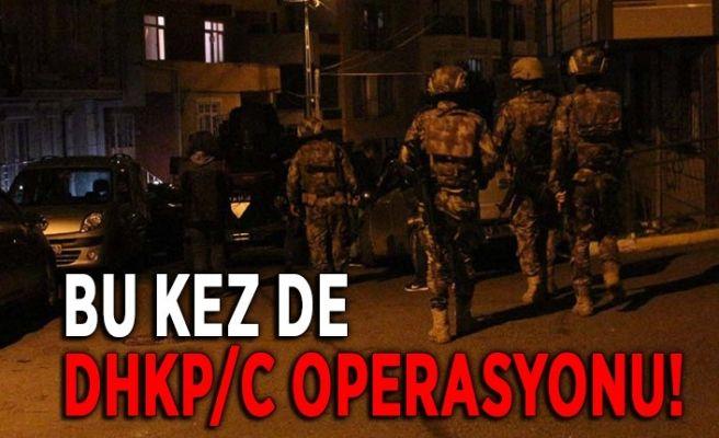 Şehirde bir terör operasyonu daha!