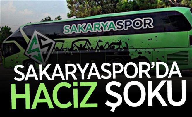 Sakaryaspor'da haciz şoku!