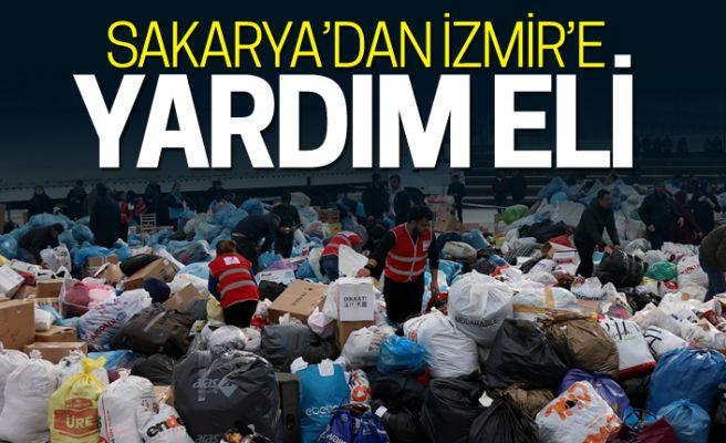 Yardım tırları Sakarya'dan İzmir'e gidecek