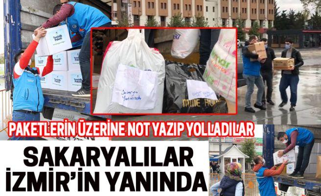 Sakaryalılar İzmir'in yanında