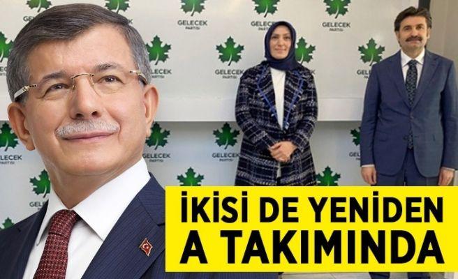 Yeniden Ahmet Davutoğlu'nun ekibindeler