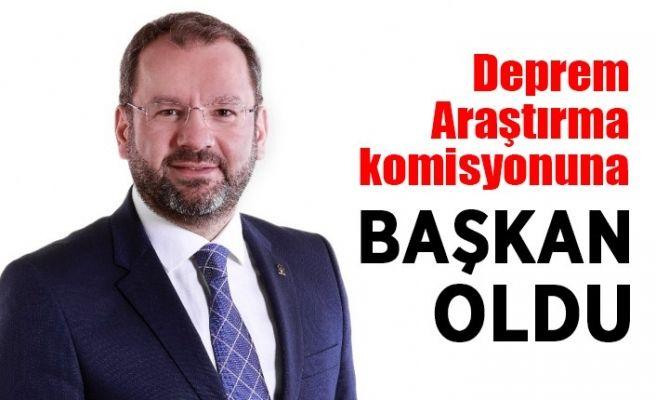 Recep Uncuoğlu komisyon başkanı oldu