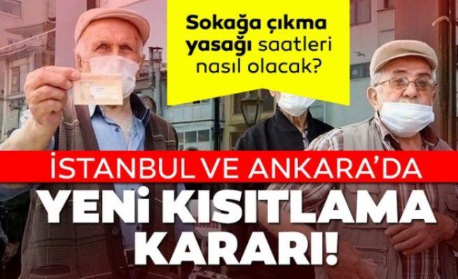 Ankara ve İstanbul'da yeni kısıtlama kararı
