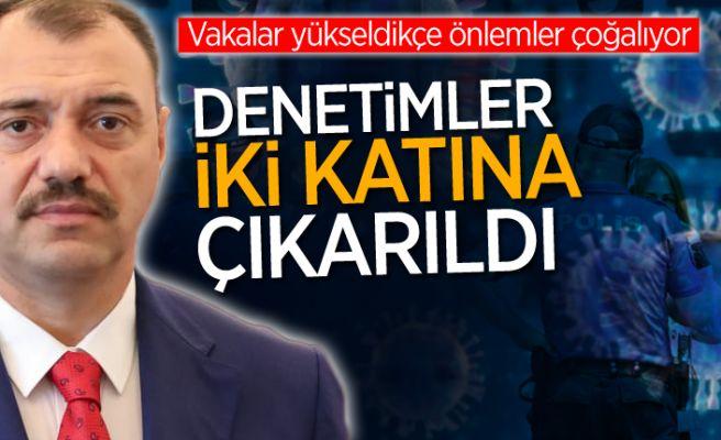 """Vali Kaldırım açıkladı: """"İki katına çıkarıldı"""""""