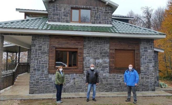 Orman koruma binaları modernleşiyor