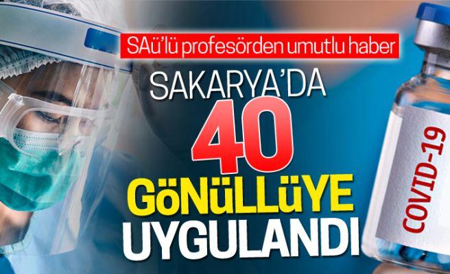 Türk çiftin bulduğu aşı Sakarya'da umut oldu