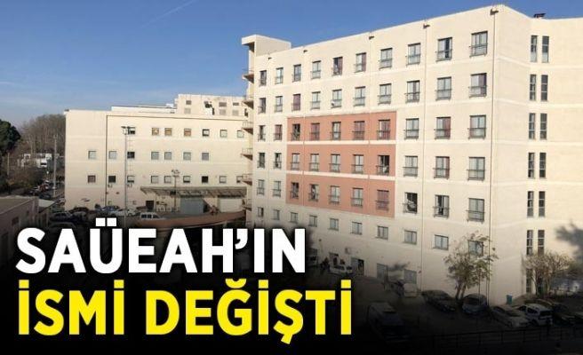 Eğitim ve Araştırma Hastanesinin ismi değişti