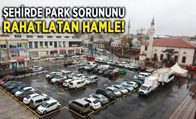 Şehir merkezinde park sorununu rahatlatan hamle!