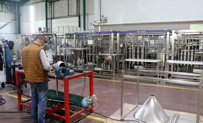 Sakarya'dan 71 ülkeye süt makinesi gönderiyorlar