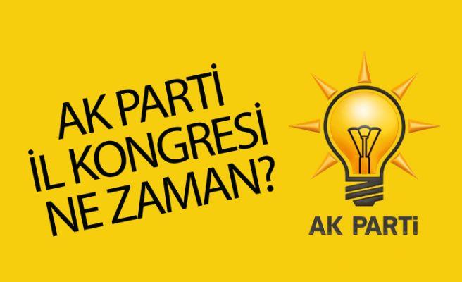 AK Parti il kongresi ne zaman?