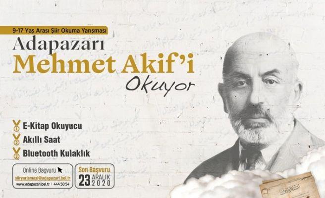 Mehmet Akif şiirlerini en güzel okuyana ödül