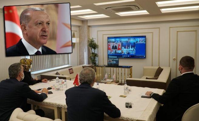Cumhurbaşkanı Erdoğan'ı dinlediler