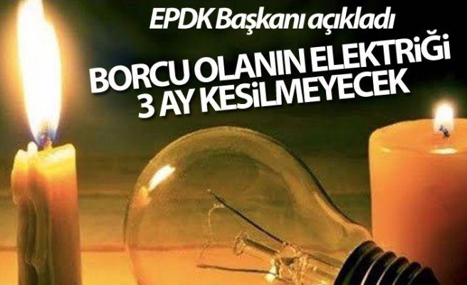 Elektrik borcu olan dikkat!