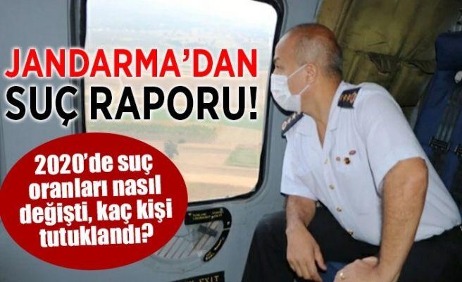 Jandarma'dan 2020 raporu!