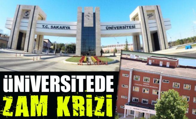 Üniversitede zam krizi