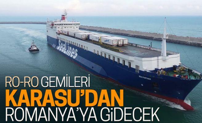 Karasu Limanı'ndan Romanya'ya Ro-Ro seferleri düzenlenecek