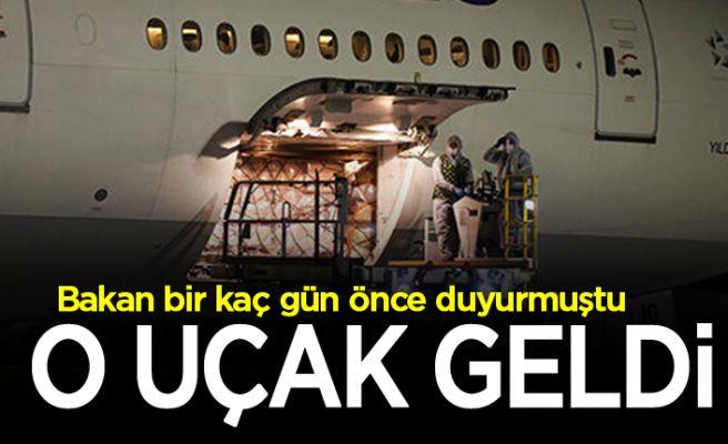 Beklenen uçak İstanbul'a geldi
