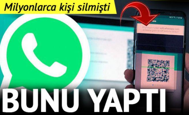 Milyonlarca kullanıcı kaybeden WhatsApp bunu yaptı
