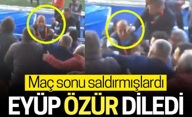 Eyüpspor, Sakaryaspor camiasından özür diledi!