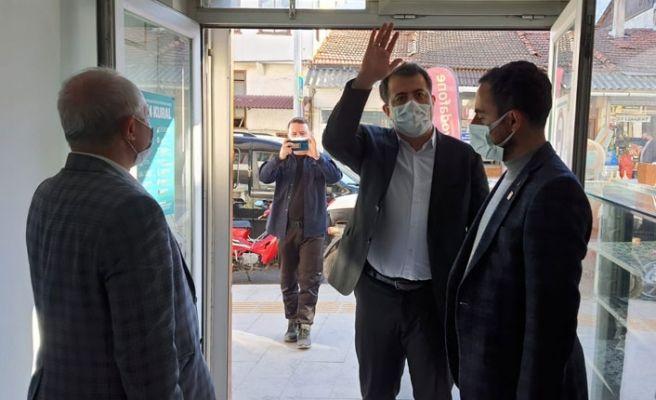 Yeniden Refah'tan Taraklı ziyareti