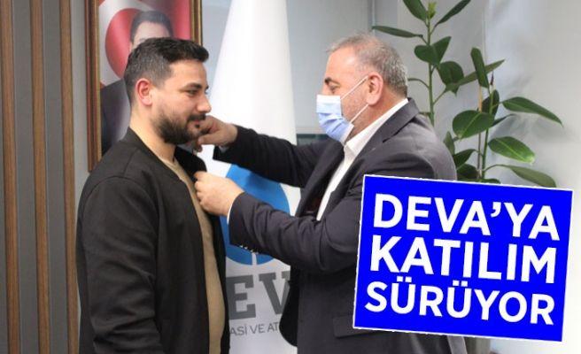 DEVA Partisi'ne katılımlar sürüyor