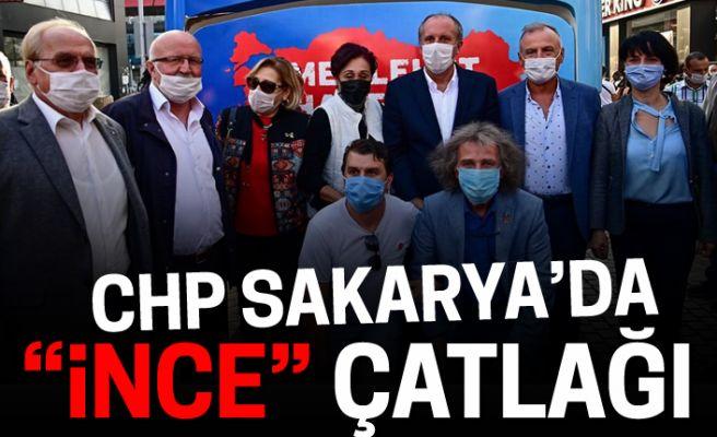 """CHP Sakarya'da  """"İnce"""" çatlağı"""