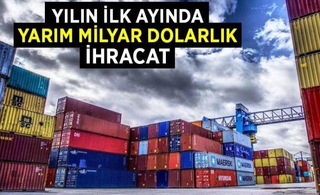 Sakarya 2021'e yarım milyar dolar ihracatla başladı