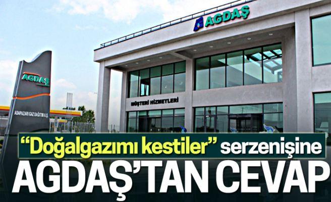 """AGDAŞ'tan """"kesinti"""" açıklaması"""
