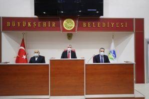 Ak Parti'den Büyükşehir'e ziyaret