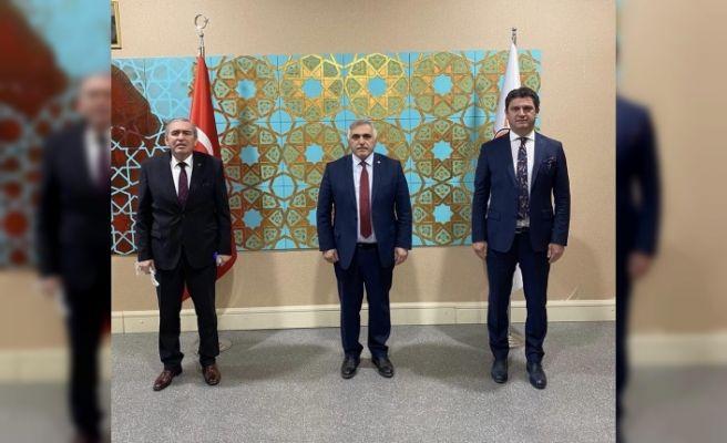 ASKF Başkanı Yaşar Zımba'dan Ankara ziyareti