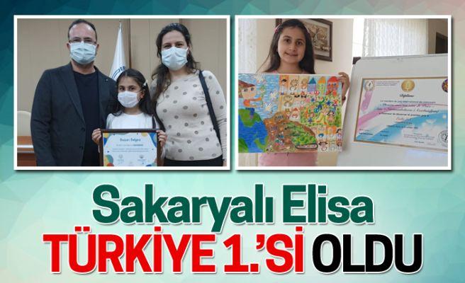 Sakaryalı öğrenci Türkiye birincisi oldu