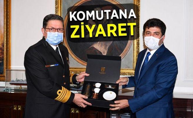 Denizcilik MYO için kuvvet komutanına ziyaret