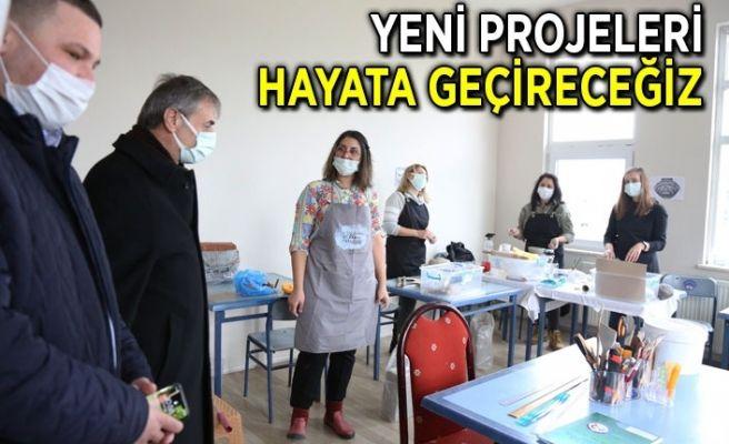 Alemdar'dan Halk Eğitim Merkezine ziyaret