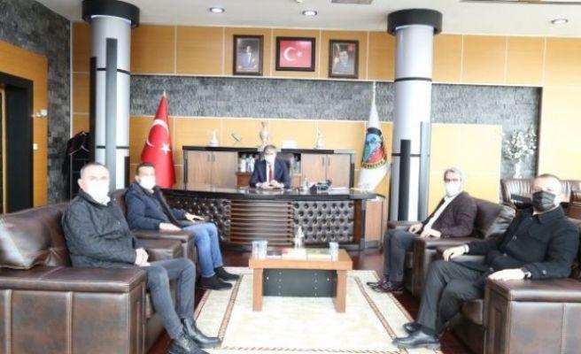 SATSO 16. Meslek Komitesi'nden Başkan Alemdar'a ziyaret