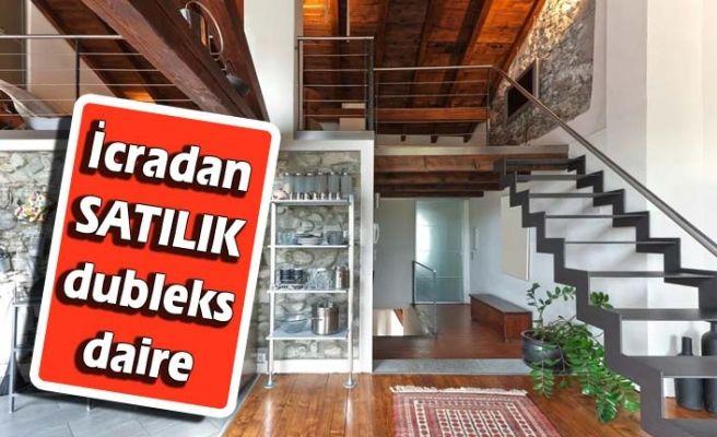 İcradan satılık 105 m² dubleks konut