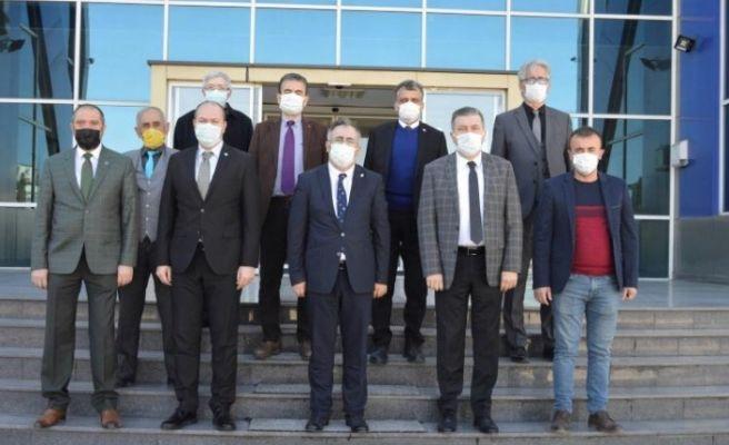 İYİ Parti Adapazarı'ndan SMMO'ya ziyaret