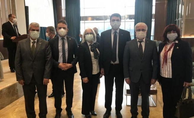 DP'li Ergül Ankara'daki toplantıya katıldı
