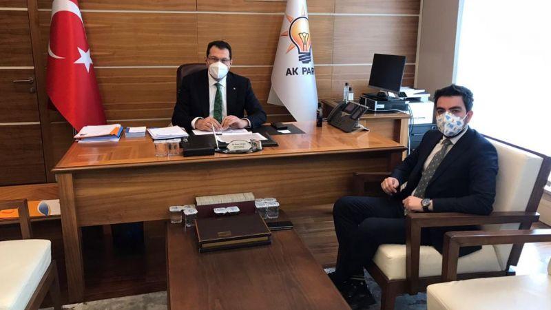 AK Parti yönetimindeki iki Sakaryalı buluştu