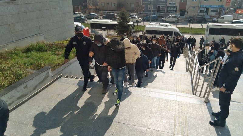 Beyaz eşya dolandırıcılığına 8 tutuklama