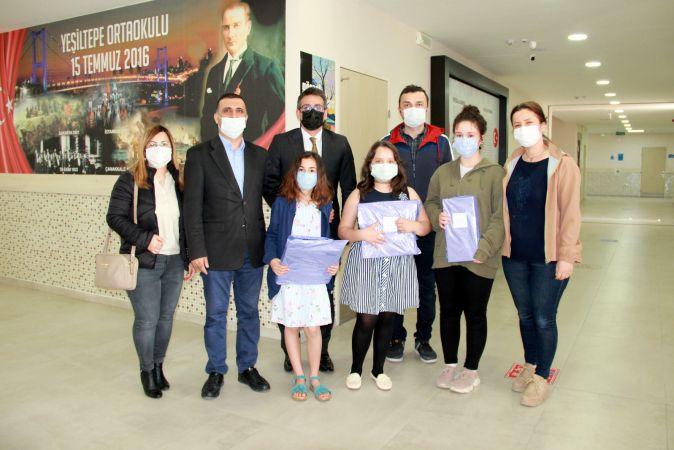 Yeşiltepe Ortaokulunda 23 Nisan ödülleri verildi