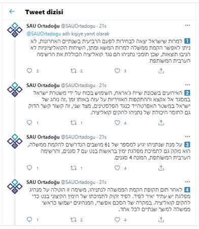 SAÜ bünyesindeki Enstitü İsrail'i kınadı