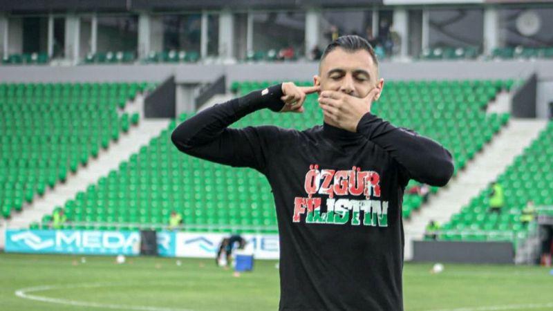 Sakaryasporlu futbolculardan Filisten'e destek