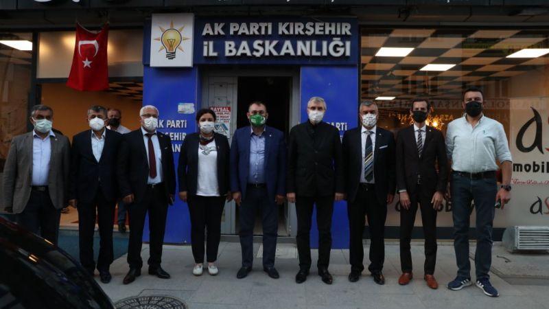 Başkan Yüce'den Kırşehir'de AK Parti teşkilatına ziyaret