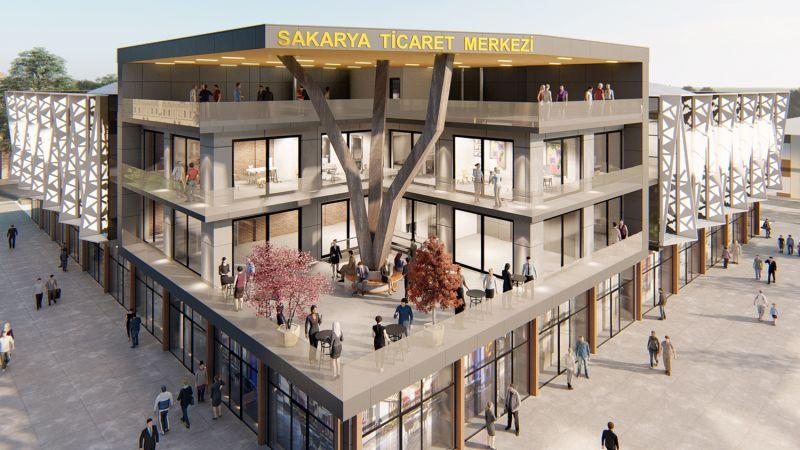 Ticaret Merkezi'nin ikinci etabı için ihaleye çıkılıyor