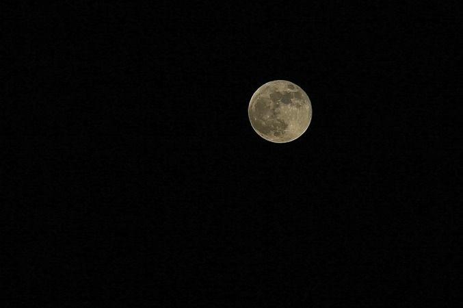Süper Ay Sakarya'da böyle görüntülendi