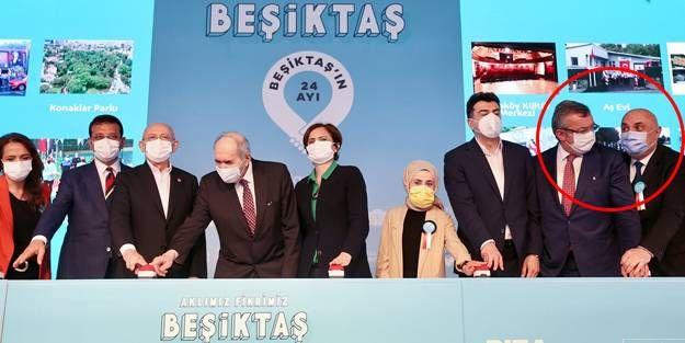 CHP'li Özkoç ile Altay arasında buton gerginliği